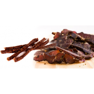 Half and Half (500g of original Biltong, 500g of Droewors)