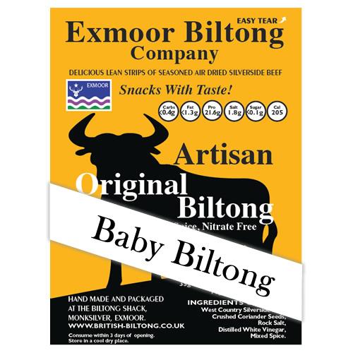 Baby Biltong (low salt)