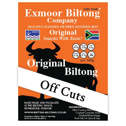 Biltong Off Cuts mix  (1kg)